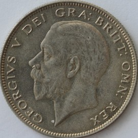 HALF CROWNS 1929  GEORGE V  UNC