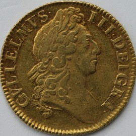 GUINEAS 1701  WILLIAM III WILLIAM III NARROW CROWNS S3463