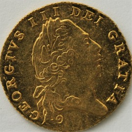 HALF GUINEAS 1802  GEORGE III GEORGE III 6TH HEAD GEF