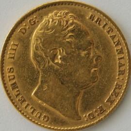 SOVEREIGNS 1837  WILLIAM IV WILLIAM IV  NVF/VF