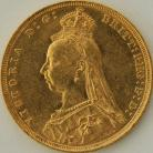 SOVEREIGNS 1890  VICTORIA JUBILEE HEAD SYDNEY
