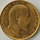 SOVEREIGNS 1908  EDWARD VII MELBOURNE