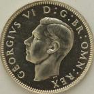 SHILLINGS 1937  GEORGE VI SCOT. PROOF FDC