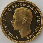 TWO POUNDS (GOLD) 1937  GEORGE VI GEORGE VI PROOF SUPERB FDC
