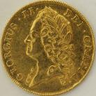 TWO GUINEAS 1740  GEORGE II GEORGE II INTERMEDIATE HEAD S3668