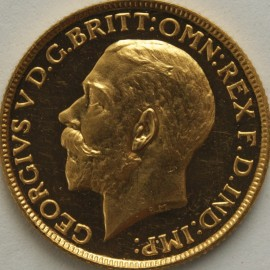 SOVEREIGNS 1911  GEORGE V PROOF  VERY SCARCE