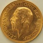 SOVEREIGNS 1930  GEORGE V SOUTH AFRICA BU