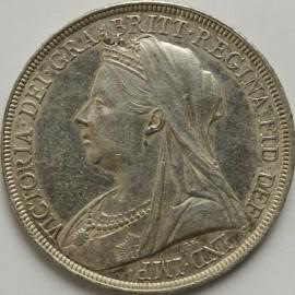 CROWNS 1897  VICTORIA LXI GEF