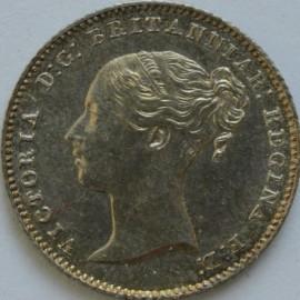 GROATS 1846  VICTORIA SCARCE UNC LUS