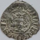 EDWARD III 1351 -1377 EDWARD III HALFPENCE FLORIN COINAGE LONDON GF