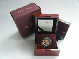 SOVEREIGNS 2020  ELIZABETH II PROOF - WITH GEORGE III PRIVY MARK