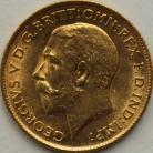 HALF SOVEREIGNS 1912  GEORGE V LONDON BU
