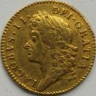HALF GUINEAS 1687  JAMES II JAMES II LAUREATE BUST S3404 RARE VF/NVF