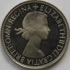 FLORINS 1953  ELIZABETH II PROOF FDC
