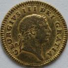 THIRD GUINEAS 1804  GEORGE III GEORGE III 2ND HEAD NVF