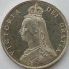 FLORINS 1887  VICTORIA JUB HD  PROOF TINY E/KS